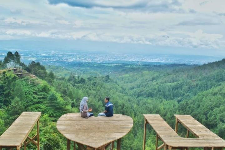 spot foto bukit bulu batu flower garden terbaru